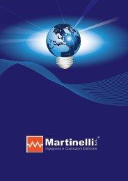 Brochure aziendale 2012 - Martinelli Srl