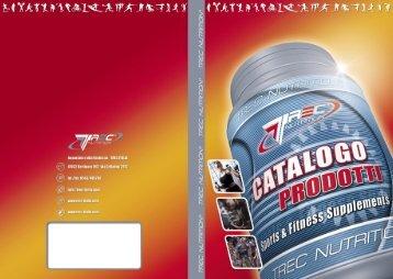 Scarica l'attuale catalogo prodotti Trec Nutrition .pdf - trec italia