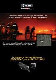 Cámaras de visión térmica FLIR de Prevent para servicios de ...