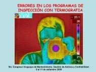 Errores en los programas de Inspección con Termografía - Uruman