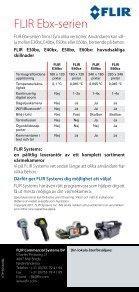 FLIR Ebx-serien - FLIR media FLIR media - Page 4