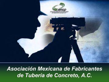 Asociación Mexicana de Fabricantes de Tuberías de Concreto