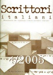 rivista 4-2005 - Sindacato Libero Scrittori Italiani