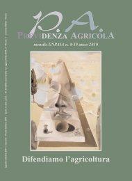PREVIDENZA AGRICOLA mensile ENPAIA n. 8-10 anno 2010 ...
