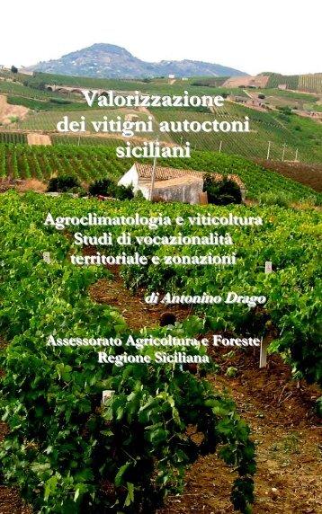 Valorizzazione dei vitigni autoctoni siciliani - SIAS - Regione Siciliana