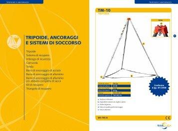 tripoide, ancoraggi e sistemi di soccorso - Siti Internet Roma
