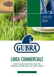 linea commerciale - Gubra