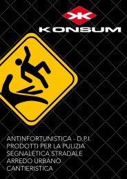 antinfortunistica - dpi prodotti per la pulizia segnaletica ... - Konsum srl