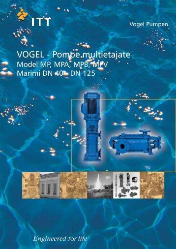 VOGEL - Pompe multietajate - Alpha Pompe