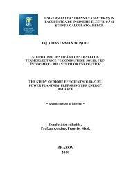 pdf romana - Universitatea Transilvania