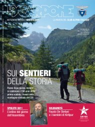 sui sentieri - Club Alpino Italiano