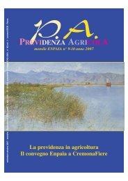 PREVIDENZA AGRICOLA - Fondazione ENPAIA