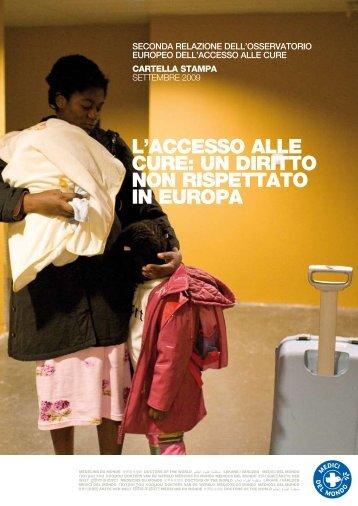 llaccesso alle cure: un diritto non rispettato in europa