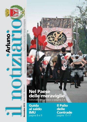 novembre 2012 - Comune di Arluno