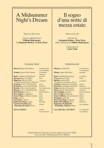 Pdf: midsummer libretto - La Scala