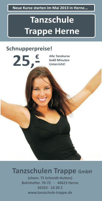 HER Saison 3-2013 - tanzschule trappe