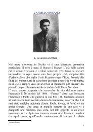 CARMELO ROSANO - alphonse doria