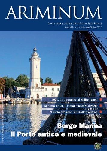 Borgo Marina Il Porto antico e medievale - Rotary Rimini