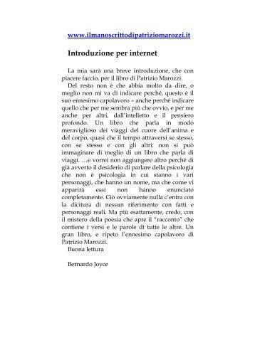 Il Tempo pag - Patrizio Marozzi
