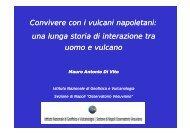 Convivere con i vulcani napoletani: una lunga storia di interazione ...