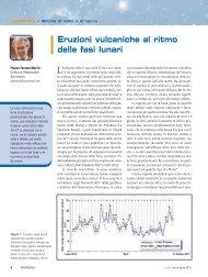 Eruzioni vulcaniche al ritmo delle fasi lunari - Commissione ...