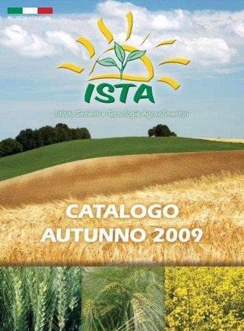 Catalogo autunno 2009