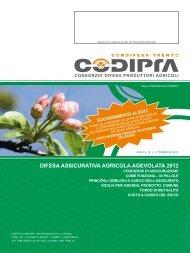 DIFESA ASSICURATIVA AGRICOLA AGEVOLATA 2012 - codipra