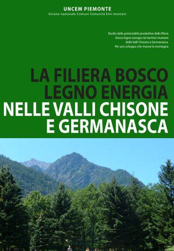 STUDIO FILIERA VAL CHISONE COMPLETO - UNCEM Piemonte