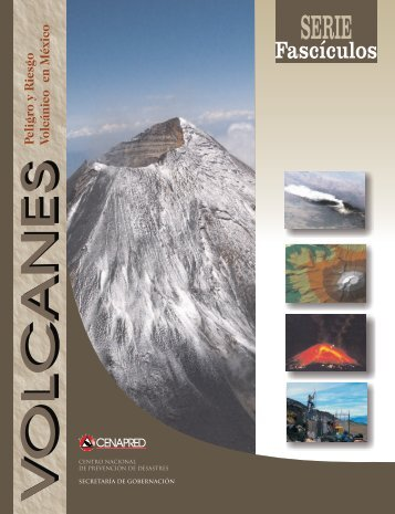Fascículo: Volcán - cenapred