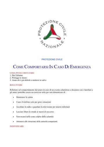 Comportamenti in caso di emergenza parte 3 - Sicurezza a scuola