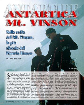 ANTARTIDE - Antarctica Mt. Vinson - Viaggi Avventure nel mondo