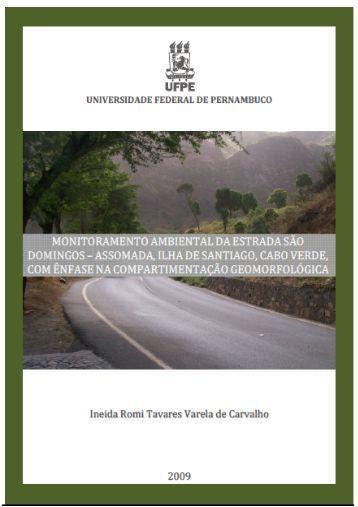 Carvalho, Ineida Romi Tavares Varela de. - Universidade Federal ...