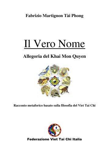 Il Vero Nome - Viet Tai chi Italia