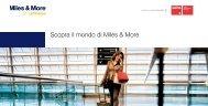 Scopra il mondo di Miles & More