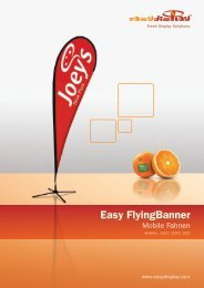 Easy Flyingbanner - Easydisplay.com