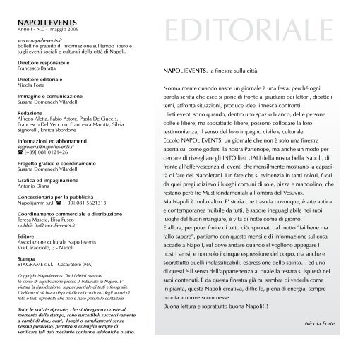 EDITORIALE Napolievents