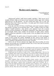 Ma dove corri ragazzo - Università Popolare di Trieste