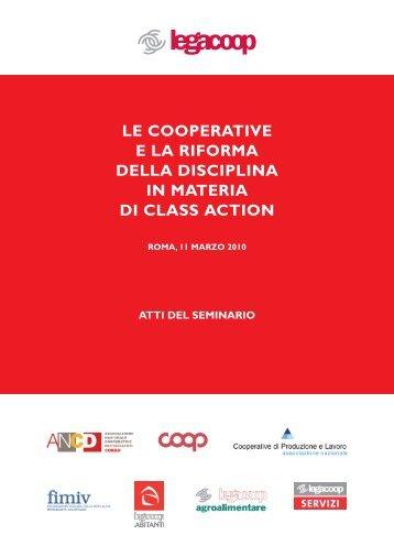 atti convegno class action - Legacoop