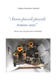"""Storie piccole piccole tranne una"" - franceschini.de"