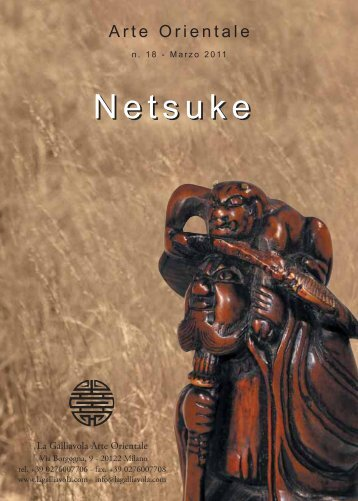 Netsuke Netsuke - La Galliavola - Arte Orientale