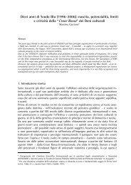 Dieci anni di Scudo Blu (1996-2006): nascita ... - web journal