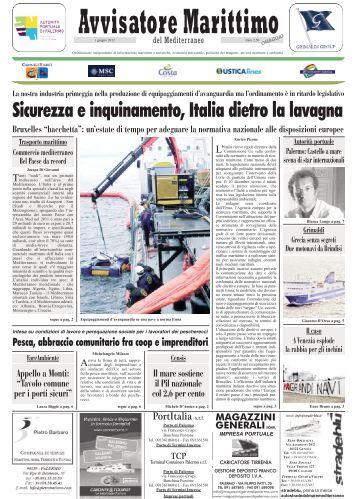 Sicurezza e inquinamento, Italia dietro la lavagna - Torre d'amare
