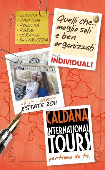 partiamo da te. - Caldana International