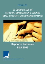 Rapporto Nazionale PISA 2009 - DpS