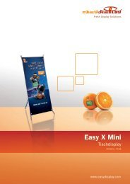 Easy X Mini - Easydisplay.com