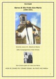 Vita del Servo di Dio frate Ave Maria - L'Oasi di Engaddi