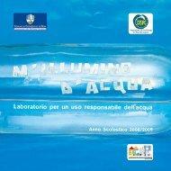 Laboratorio per un uso responsabile dell'acqua - Comune di ...
