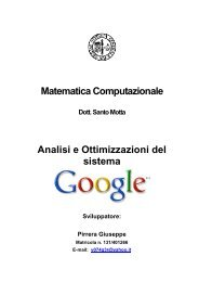 Analisi e Ottimizzazioni del sistema Google - PGINTERACTIVE