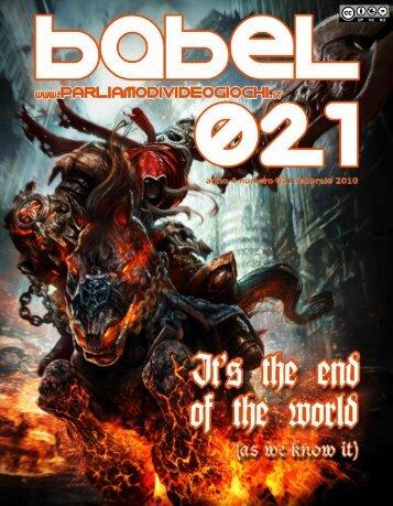 PDF Babel 021 - Parliamo di Videogiochi