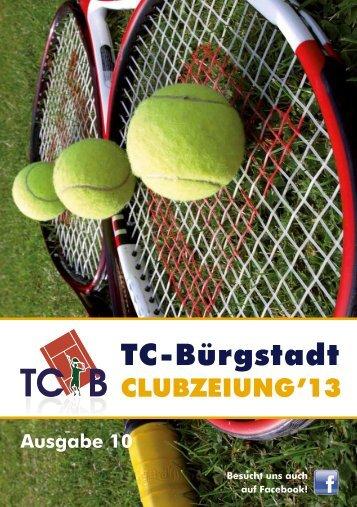 tcb - clubzeitung 2013 - TC Bürgstadt